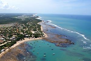 Praia Do Forte Aerial
