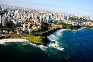 Salvador Aerial View